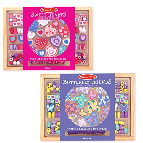 Melissa & Doug Bead Set Bundle 2-Pack