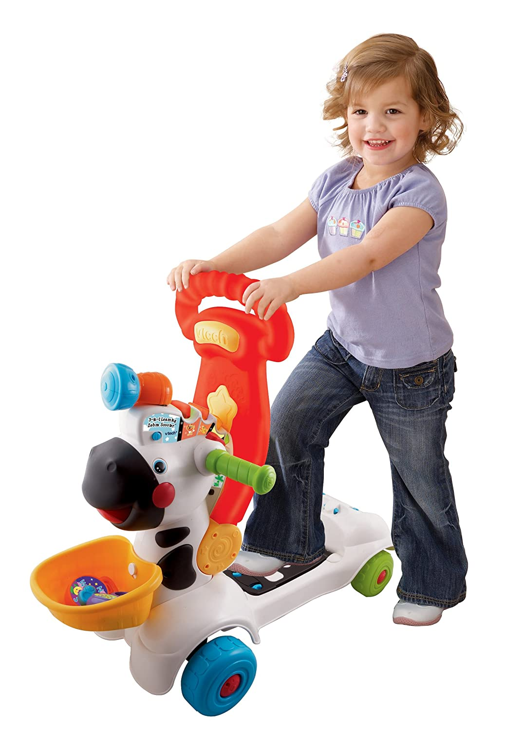 Top Vtech Toys : Vtech in learning zebra scooter best gifts top toys