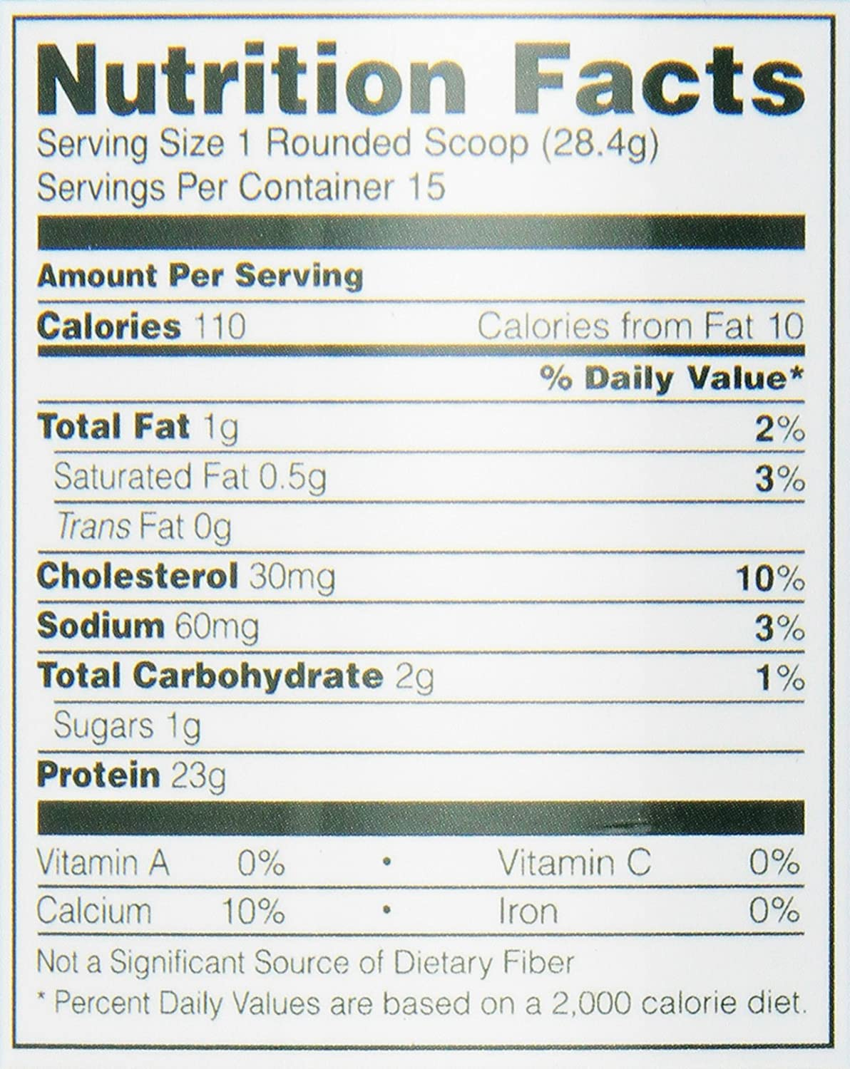 ON Whey Gold Standard - 1 lb Vanilla Ice Cream