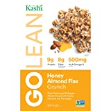Kashi GOLEAN Crunch! Cereal, Honey Almond Flax, 14 Ounce  (Pack of 4)