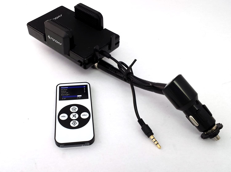 SANOXY® CAR FM Transmitter for mobile phones mp3 sanoxy® car fm transmitter for mobile phones mp3
