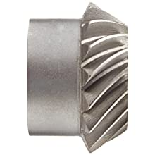 "Boston Gear SS142-1P Spiral Bevel Pinion Gear, 2:1 Ratio, 0.500"" Bore, 14 Pitch, 16 Teeth, 35 Degree Spiral Angle, Steel"