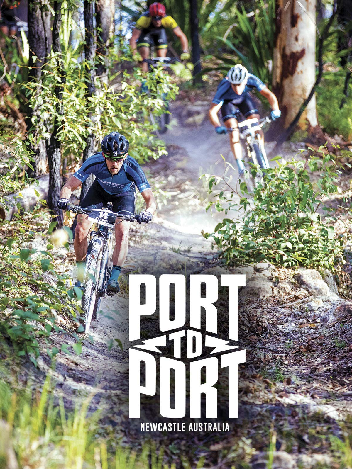 Port to Port, Newcastle, Australia. Mountain Bike Stage Race