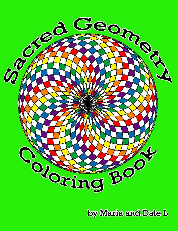 Sacred Geometry Book Sacred Geometry Coloring Book