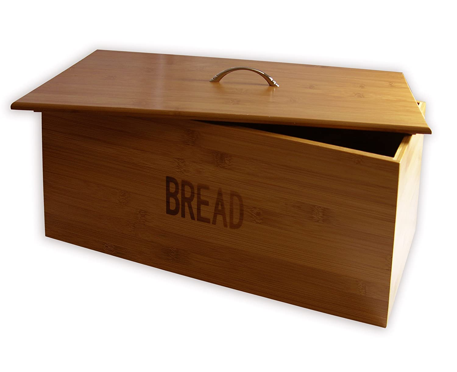 цена Francois et Mimi Pure Bamboo Large-Sized Bread Bin Box онлайн в 2017 году