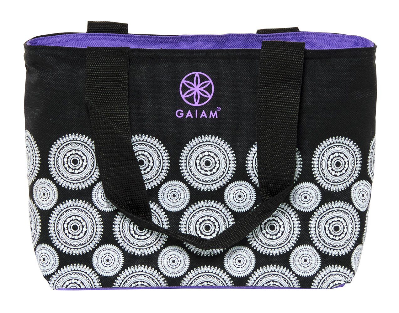 Gaiam Teatime Tote – Black Marrakesh (30896)
