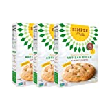 Simple Mills Artisan Bread Mix, 10.4 Ounce Box, 3 Count