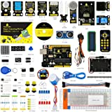 KEYESTUDIO UNO R3 Project Complete Starter Kit for Arduino Starter Kit with Tutorial Book, 32 Interesting Projects, Great Stem Education Toy for Boys and Girls