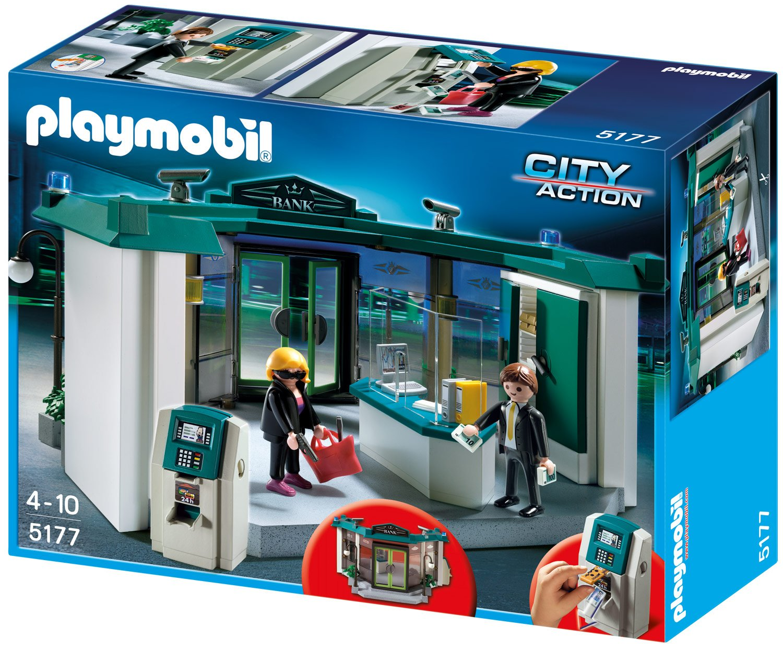 PLAYMOBIL® Bank mit Geldautomaten (5177)