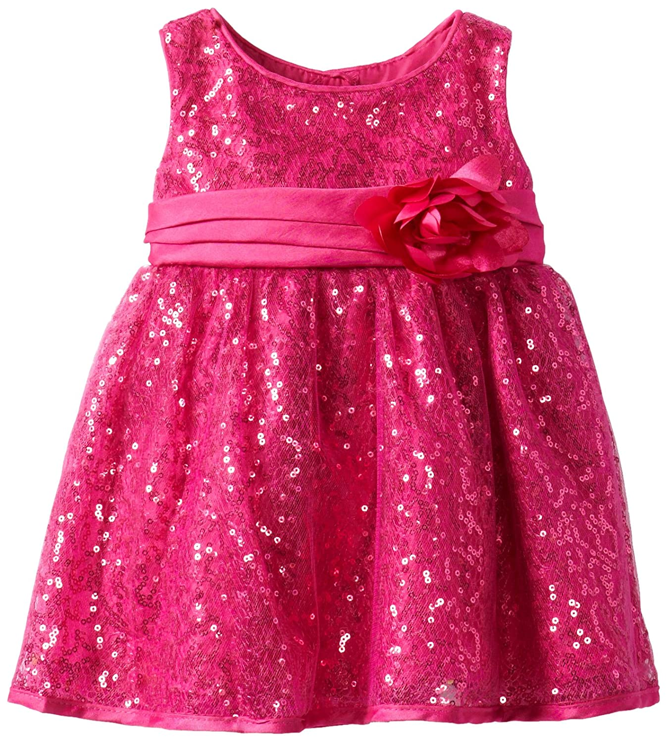 Youngland Baby-Girls Infant Squiggle Sequin Dress