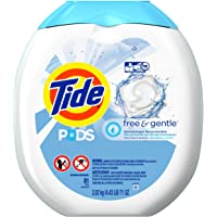 3 x 81-Count Tide PODS Free & Gentle HE Turbo Laundry Detergent Pacs Tub