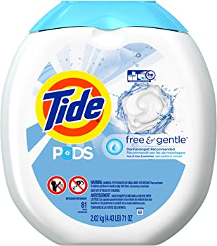 3 x 81-Count Tide PODS Free & Gentle Laundry Detergent Pacs