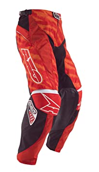 AXO MX3T0054-R00 Dyemax Pants, Taille 46, Rouge