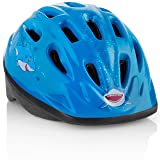 TeamObsidian Kids Bike Helmet [ Blue Shark ] – Adjustable from Toddler to Youth Size, Ages 3-7 - Durable Kid Bicycle Helmets with Fun Aquatic Design Boys Will Love - CSPC Certified - FunWave (Color: Blue Shark)