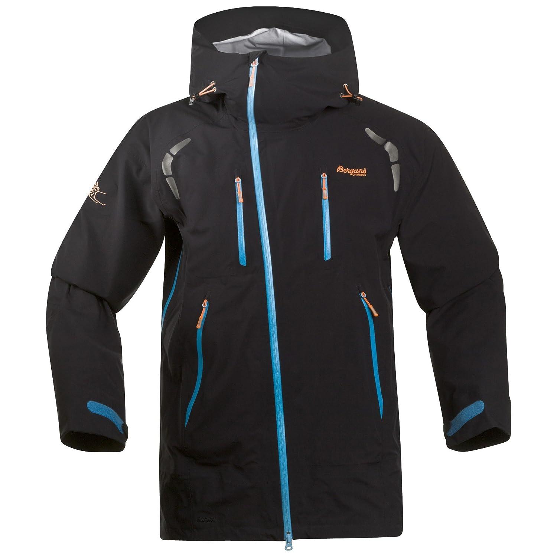 Bergans – Herren Outdoor Jacke in der Farbe Schwarz, Winddicht – Wasserdicht – Atmungsaktiv, H/W 15, Glittertind jacket (6150) günstig