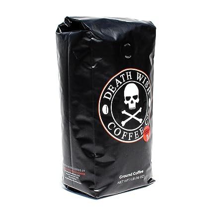 Death Wish Coffee, The World\u0026#39;s Strongest Ground Coffee Beans, Fair ...