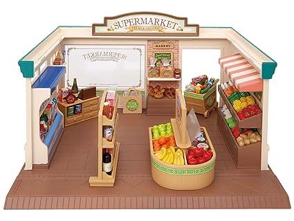 Sylvanian Families - 2887 - Mobilier De Poupée - Supermarché