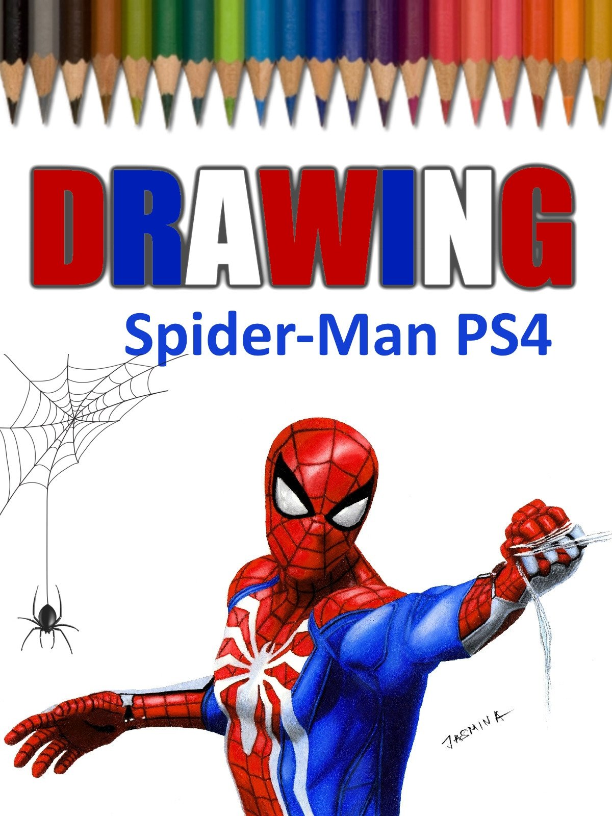 Clip: Drawing Spider-Man PS4