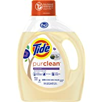 Tide Purclean Liquid Laundry Detergent for Regular and HE Washers (Honey Lavender Scent)