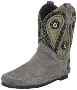 Coral Blue Tronchetto Crosta Ricamo CB.K312002 SUE, Bottes femme   avis de plus amples informations