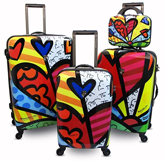 Click to buy Hard Sided Luggage: Britto Collection by Heys USA A New Day 4 Piece Setfrom Amazon!