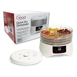 Good Cooking Electric Professional Grade Food Dehydrator with Four Trays By Good Cooking - Dries 30% Faster