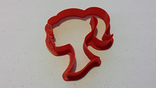 Silhouette Cookie Cutter Barbie Silhouette Cookie