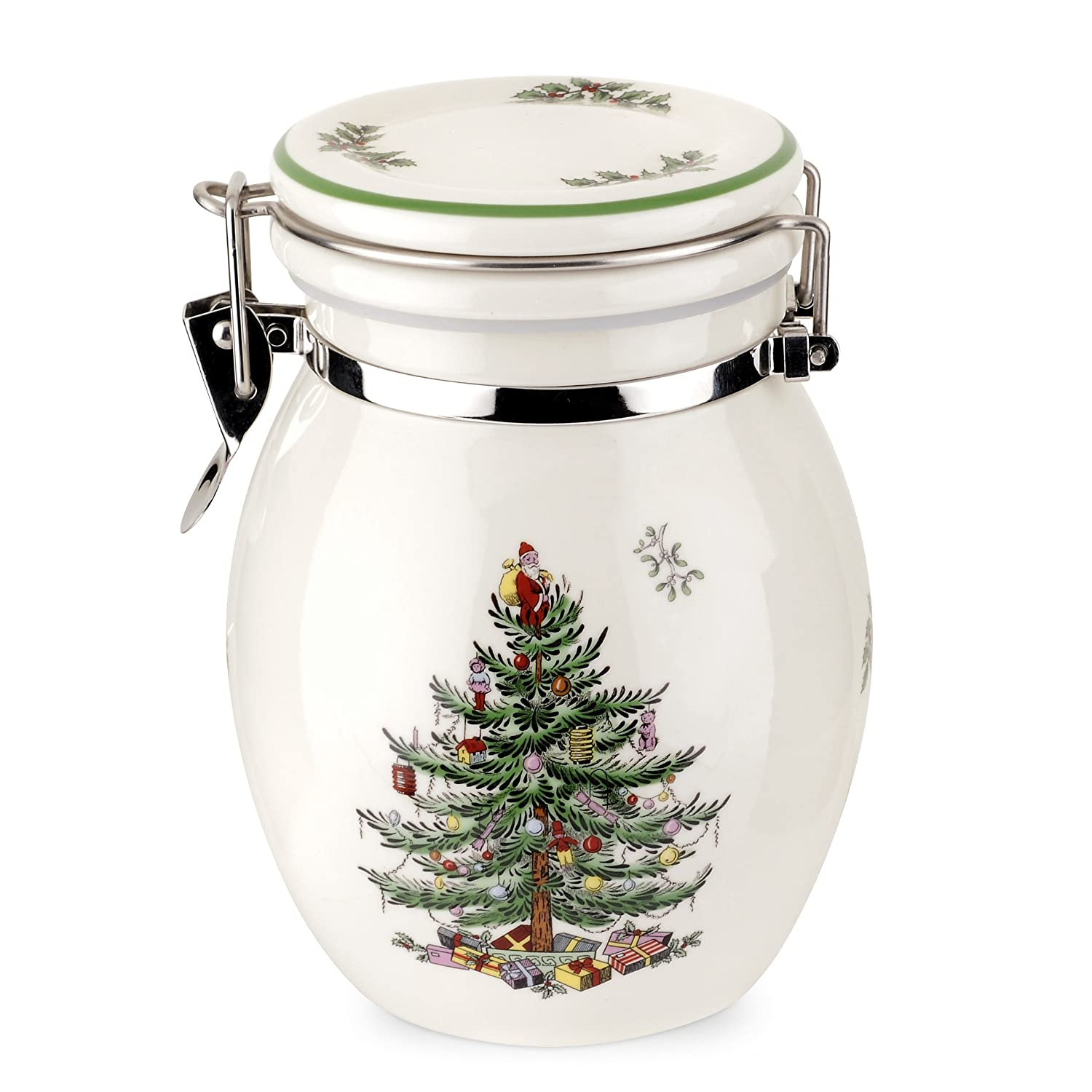 Spode Christmas Tree Preserve Jar
