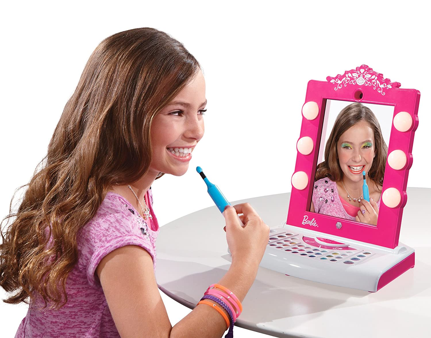 Toys For 7 Years : Barbie digital makeover mirror review