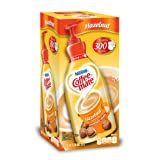 NESTLE COFFEE-MATE Coffee Creamer, Hazelnut, 1.5L liquid pump bottle, Pack of 1