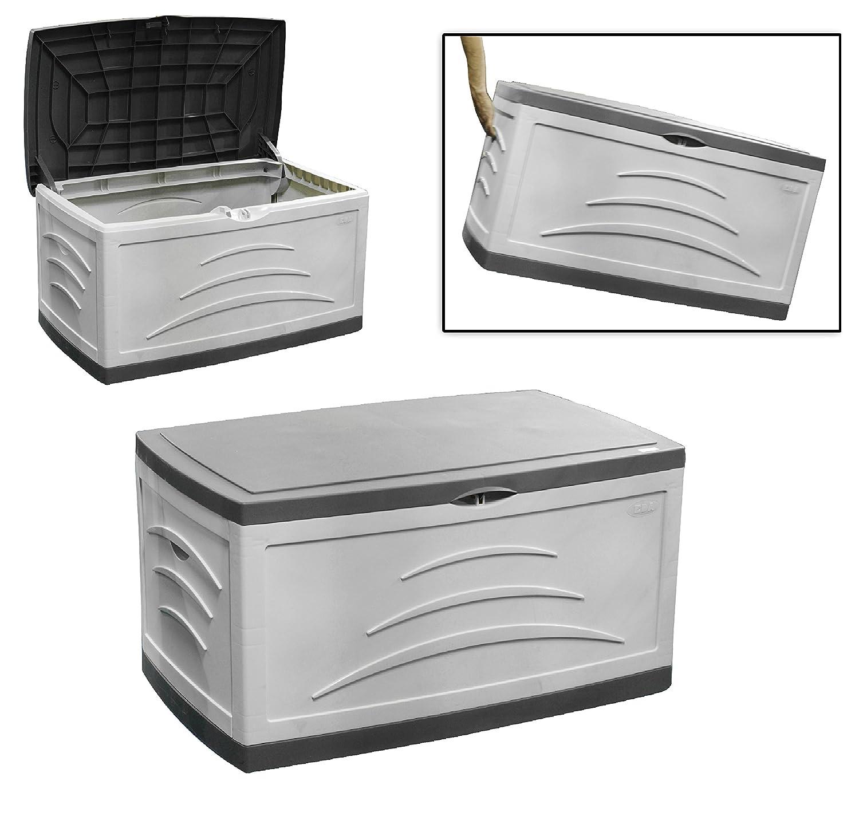 Garten Kunststoff-Box Auflagenbox 500L Kissenbox Aufbewahrungsbox 121x76x67 cm günstig kaufen
