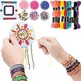 7TECH Premium Friendship Bracelet Maker 2 Packs Jewelry Kit (Deep Color) (Color: Deep Color)