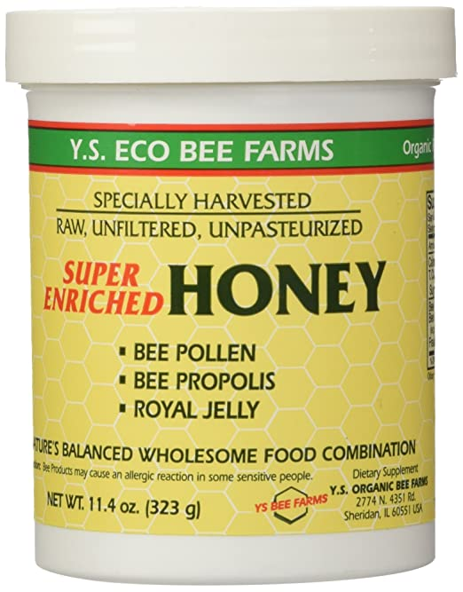Enriched Honey YS Eco Bee Farms 11.4 oz (323 grams)