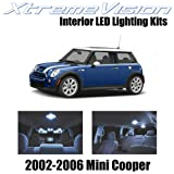 XtremeVision Mini Cooper 2002-2006 (7 Pieces) Cool White Premium Interior LED Kit Package + Installation Tool