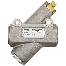 "Parker 032501000 3250 Series Aluminum Inline Flow Control Valve, 1"" NPTF, 250 psi, Standard Adjustment"