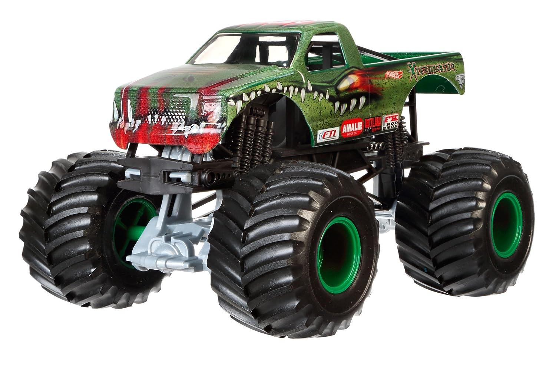 hot wheels monster jam 1 24 scale xtermigator vehicle ebay. Black Bedroom Furniture Sets. Home Design Ideas