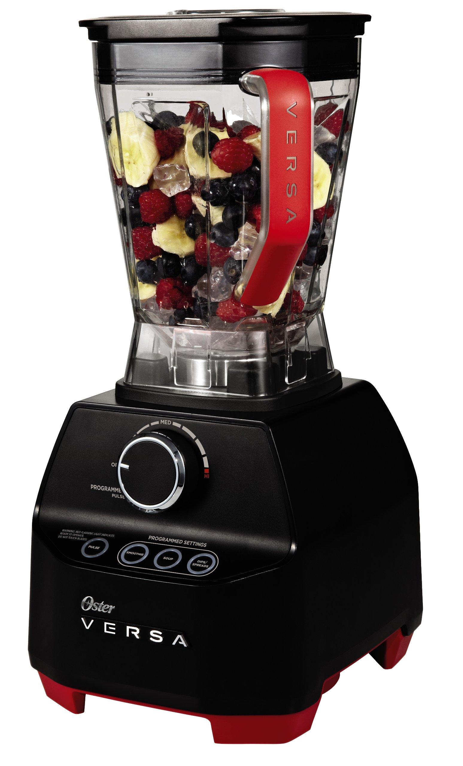 Oster VERSA 1400-watt Professional Performance Blender with Low Profile Jar + Bonus Cookbooks - Best Blender Reviews 2020