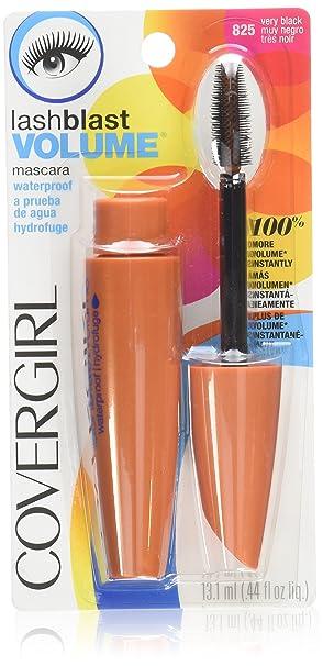 CoverGirl LashBlast Waterproof Mascara, Very Black 825,  0.44 Ounce Package