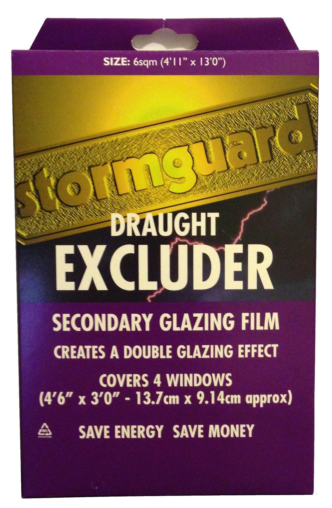 Stormguard pellicola isolante per finestre 6 m ebay - Isolante per finestre ...
