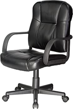 RelaxZen Leather Office Massage Chair