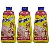 Nesquik Syrup - Strawberry - 22 oz - 3 pk (Tamaño: 22oz Bottle)