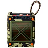 Skullcandy Shrapnel Water-resistant Drop-proof Bluetooth Portable Speaker with On-Board Mic, Camo