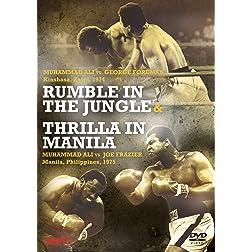 Rumble In The Jungle & Thrilla In Manilla - Ali, Foreman & Frazier