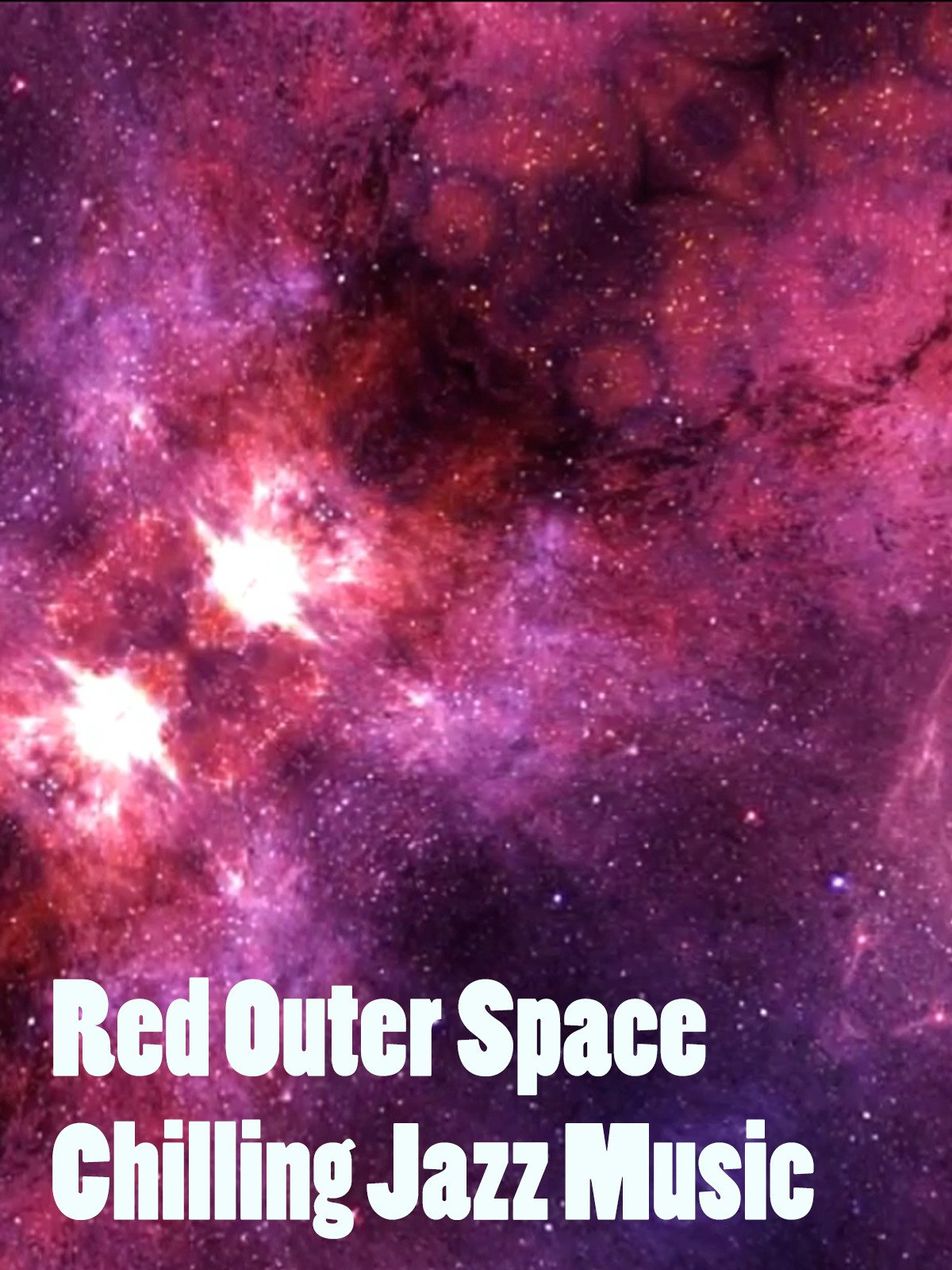 Red Outer Space Chilling Jazz Music