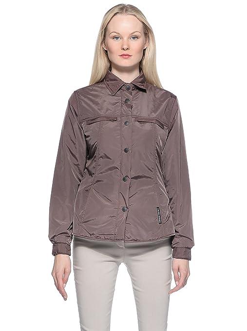 Tucano urbano 880NO4 pour oiseaux-lORI-veste coupe-vent-respirant et rembourré women's blouse., hazel marron-taille m