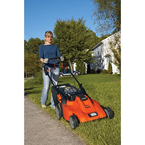 Black & Decker SPCM1936 19-Inch 36-Volt Cordless Electric Self-Propelled Lawn Mower With Removable Battery