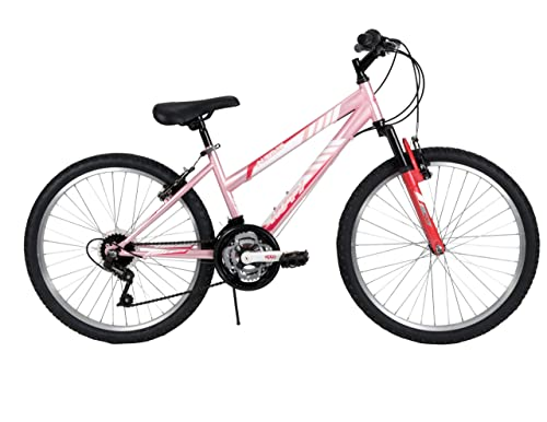 Huffy Bicycle Company Women's 24334 Alpine Bike, Bubblegum Pink, 24-Inch