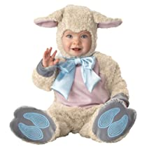 Lil Characters Infant Lamb Costume Off White/Pink/Light Blue