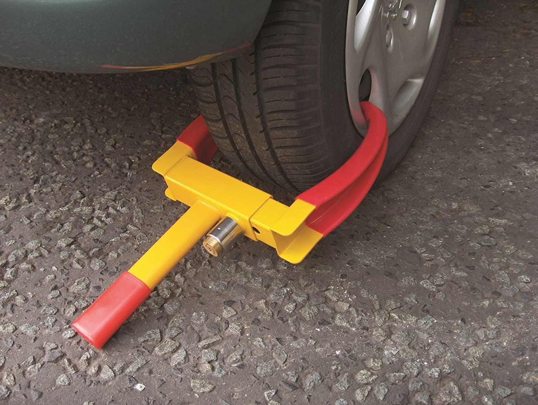Buy a Wheel Clamp on Amazon now!