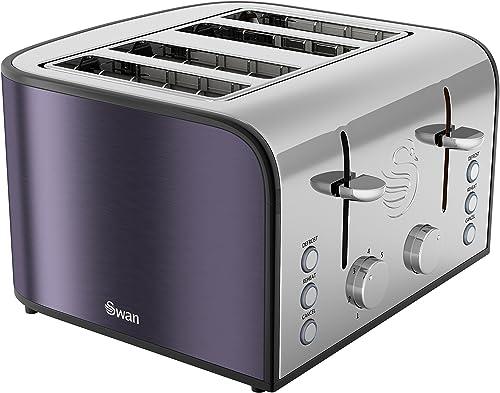 Swan ST17010PLUN 4-Slice Toaster